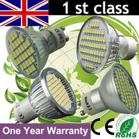 4 6 10 X SMD Lamps LED Bulbs Spot Lights GU10 Day Warm White Lamps High Power UK