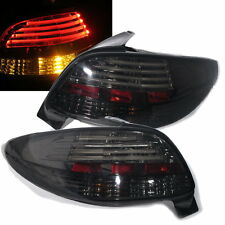 206 1998-2005 3D/5D Hatchback LED Bar Tail Rear LIGHT Smoke for PEUGEOT