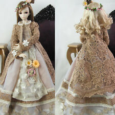 NEW Bjd Clothes Forest Style Coffee Dress Suit(5pcs) for BJD 1/3 MSD Doll