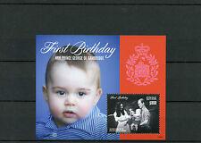 Guyana 2014 MNH PRINCIPE GEORGE di Cambridge primo compleanno IV S / S II William Kate