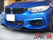 HM Type Carbon Fiber Front Lip Fit 420i 428i 435i F32 F36 w/ M Sport Bumper