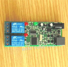 Mobile Phone Remote Control Switch  2 Channel Relay Controller Module 12V DC