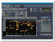 PROFESSIONAL MULTIMEDIA STUDIO. MULTI CHANNEL SEQUENCER, LOOPS, EFFECTS, MIDI