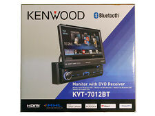"Kenwood KVT-7012BT 6.95"" Single DIN Bluetooth In-Dash Flip-out DVD Car Stereo"