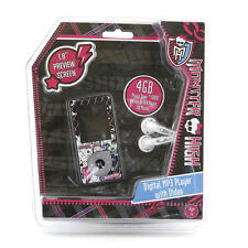 NEW Monster High 4GB Digital MP3 Player with Video RARE SOLD OUT 1330613 4gb