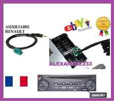 auxiliary cable the adapter car radio vehicles renault udapte list Clio 2 3