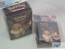 POKEMON TCG ULTRA PRO XY Eevee Evolutions DECK PROTECTOR CARD SLEEVES & DECK BOX
