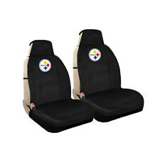 New NFL Pittsburgh Steelers Universal Fit Car Truck Front Sideless Seat Covers