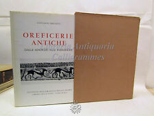 Giovanni Becatti: Oreficerie antiche, Libreria dello Stato 1955, Collezioni