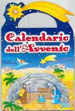 calendario dell' avvento advent calendar con finestrelle, raffaello, 24X30CM.