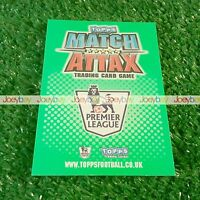 10/11 CLUB BADGES TOPPS MATCH ATTAX LIMITED EDITION BADGE CARD 2010 2011