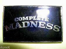MADNESS - BLACK COMPLETE DIAL-A-STYLE ENAMEL BADGE - SUGGS SKA TWO 2 TONE STIFF