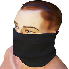 Motorcycle Wind Resistant  Neck Warmer Tube Winter Face Mask Black