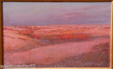 James Henderson 1871-1951 Painting Sunset Landscape Canadian Listed Saskatchewan