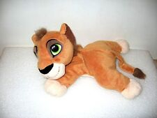 PELUCHE DOUDOU LE ROI LION 22 CM DISNEY  LION KING PLUSH A34