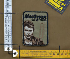 """Ricamata / Embroidered Patch """"MacGyver"""" Coyote Tan with VELCRO® brand hook"""
