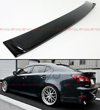 FOR 2006-2013 LEXUS IS 250/350/ ISF VIP REAL CARBON FIBER REAR ROOF TOP SPOILER