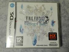 FINAL FANTASY CRYSTAL CHRONICLES ECHOES OF TIME - NINTENDO DS 3DS ITALIANO NUOVO