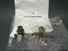 ITT CANNON CA3101F10SL-3PF80 3 POSITION CIRCULAR CONNECTOR ASSEMBLY WITH PINS