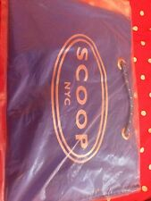 Scoop NYC Vinyl Shopping Tote New Blue