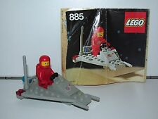 LEGO SPACE No 885 SPACE SCOOTER 100% COMPLETE + INSTRUCTIONS 1980s