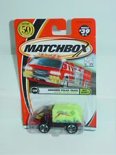 MATCHBOX 2002 #39 ARMORED POLICE TRUCK