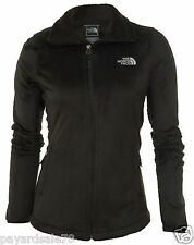 WOMEN'S THE NORTH FACE OSITO 2 FULL ZIP BLACK SILKEN FLEECE JACKET SIZE MEDIUM