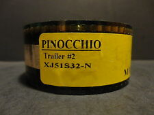 Pinocchio Movie 35mm Film Cells Trailer #2 2002 SCOPE  1min  Miramax