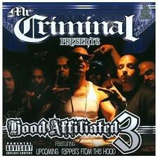 Chicano Rap CD Mr Criminal - Hood Affiliated 3 - G-TOWN Script Loc Elite 1 C-Boy