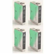 4 Remanufactured Black Ink Cartridges for Epson Artisan 50 /#78 / T078120/ T0781