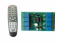 Wireless InfraRed IR Remote Control 8 Channel Board HOME & INDUSTRIAL AUTOMATION