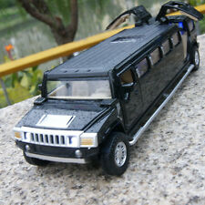 MPV7 1:32 Hummer H6 Extended Alloy Diecast Car Model Sound&Light 5-door sunroof