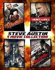 Steve Austin: 4 Movie Collection (Blu-ray Disc, 2014, 4-Disc Set, SteelBook) NEW