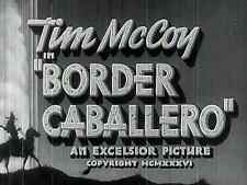 Border Caballero 1936 Tim McCoy, Lois January  Western DVD