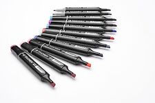 TOUCH NEW Art Drawing Design Marker Pen 40 Colour Pack (NOT Copic)