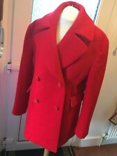Mulberry Red Coat Size 8