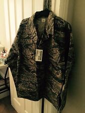 NWT Genuine Air Force Military BDU's Shirt.Tiger Stripe  50L Camouflage Pattern