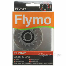FLYMO Strimmer Spool & Line Garden Trimmer Sabre Trim FLY047 Genuine Spare Part