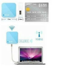 Mini TP-LINK TL-WR802N wifi 300 Mbps USB Powered Wireless N Nano Travel Router