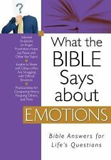 What the Bible Says about Emotions