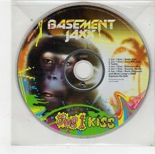 (FU163) Basement Jaxx, Jus 1 Kiss - 2001 DJ CD