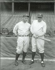 BABE RUTH AND LOU GEHRIG 8X10 GLOSSY PHOTO PICTURE
