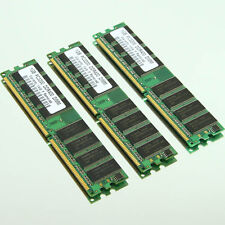 Low-Density 3GB ( 3x 1GB ) PC3200 DDR400 400Mhz DIMM Desktop Memory 64Mx8 CL3