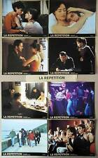 LA REPETITION/REPLAY - Béart,Levy,Corsini - JEU 8 PHOTOS / 8 FRENCH LOBBY CARDS