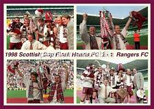 HEART OF MIDLOTHIAN FC HEARTS FC 1998 SCOTTISH CUP FINAL VICTORY EXCLUSIVE PRINT