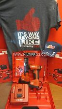 "Hilti SID 121-A 12V 3,0 Ah NiMH 1/4"" Hammer Drill,T-SHIRT,PENCIL,HAT,FAST SHIP"