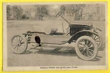 Format CPA Rare France VOITURE CHASSIS FORD TORPEDO et Prix des AUTOMOBILES