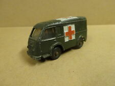 VINTAGE DINKY TOYS MADE IN FRANCE N° 80F / AMBULANCE MILITAIRE