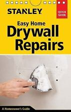 Stanley Easy Home Drywall Repairs Book~Tools~Materials~Sanding~Hole Repair~NEW