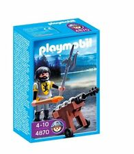 BNIB Playmobil 4870 LION KNIGHT CANNON GUARD - Discontinued line